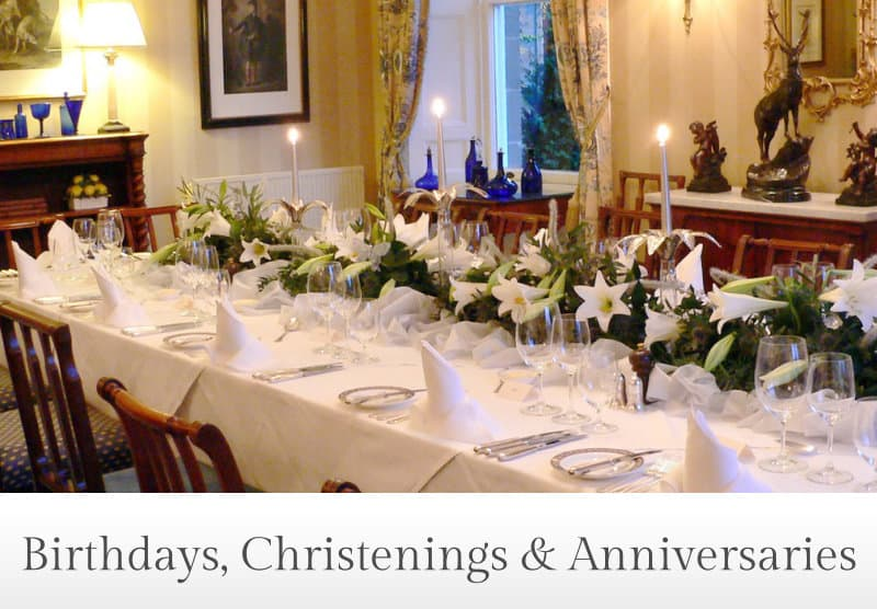 Birthdays, Christenings & Anniversaries