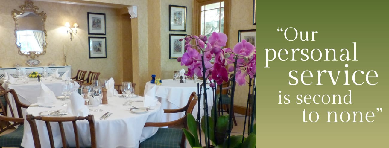 Menus and Wine List - Kinloch House