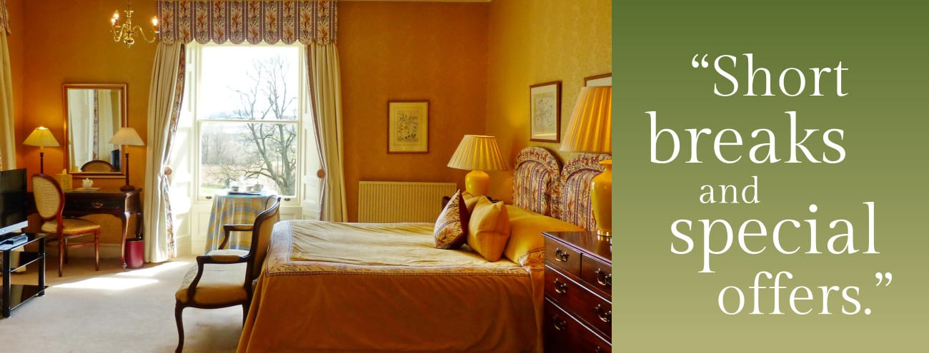Short Breaks and Special Offers from Kinloch House