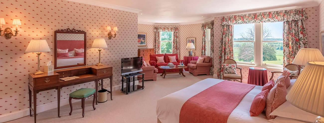Luxury Rooms and Accommodation at Kinloch House Hotel
