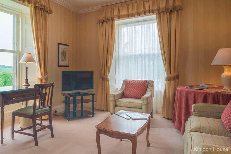 Suite in Kinloch House Perthshire