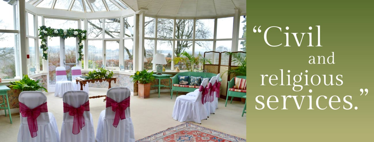 Civil Ceremonies at Kinloch House